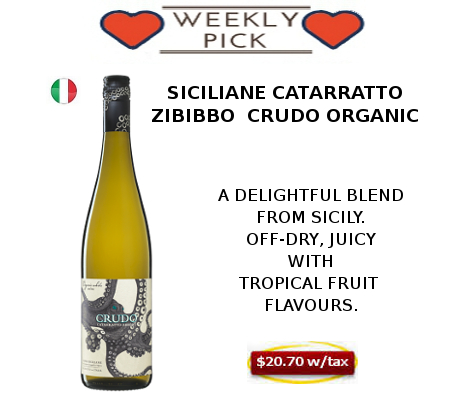 CATARRATO ZIBIBBO CRUDO ORGANIC WINE