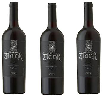 apothic dark red wine