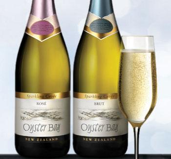 oYSTER bAY SPARKLING wine