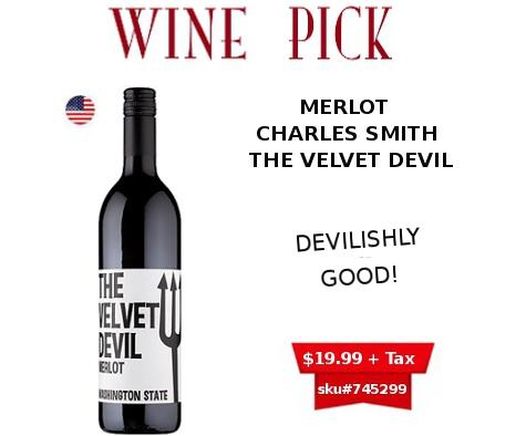 the velvet devil merlot wine
