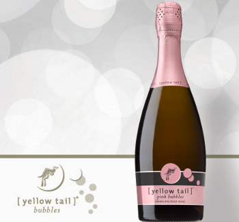 yellow tail rose sparkling wine