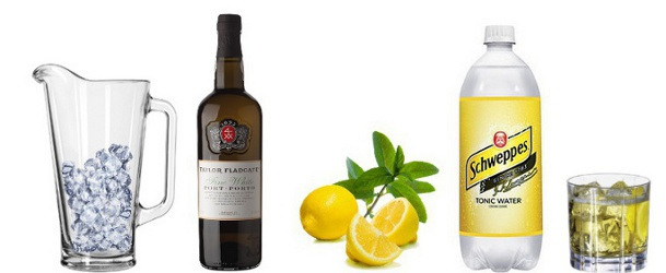 White Porto Mojito - The Wine Detective