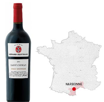 saint chinian syrah mourvedre – bertrand wine
