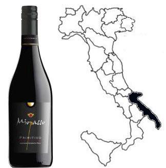 MIOPASSO PRIMITIVO WINE