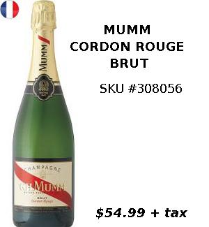 MUMM - CORDON ROUGE BRUT
