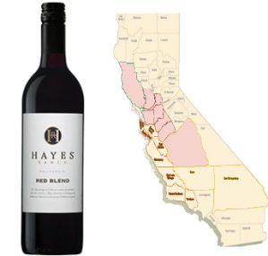 hayes ranch red wine blend