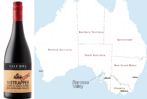 g.s.m. the strapper yulumba barossa valley wine