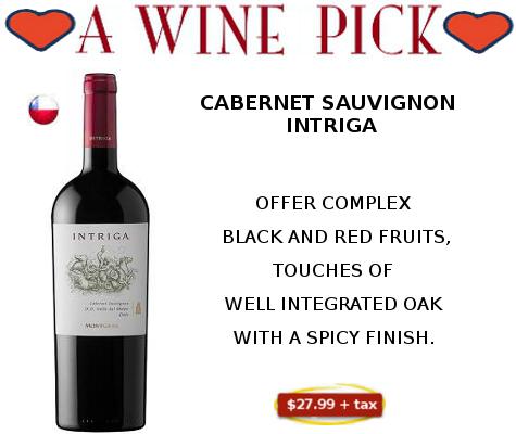 cabernet sauvignon_Intriga_red wine