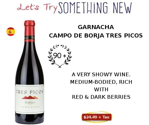 garnacha campo de borja wine