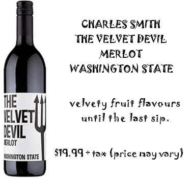 the velvet devil merlot red wine