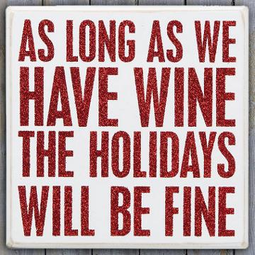 christmas wine quote