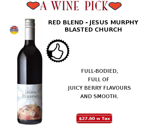 JESUS MURPHY RED WINE BLEND