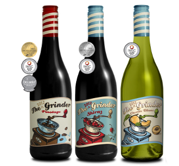 The grinder wines