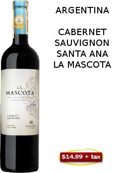 CABERNET SAUVIGNON LA MASCOTA