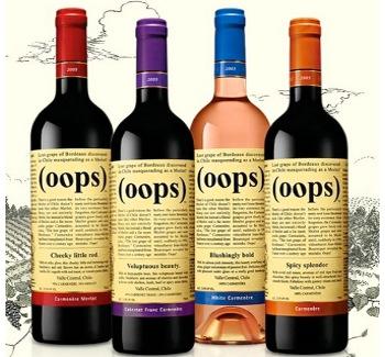 oops carmenere wine
