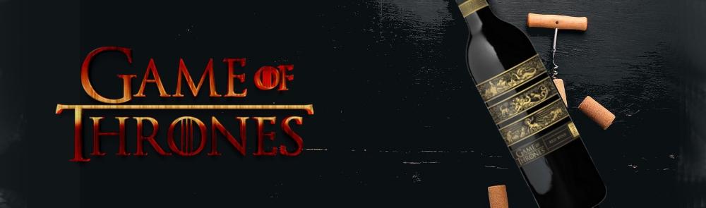 Games Of Thrones wines