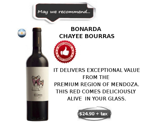 BONARDA CHAYEE BOURRAS WINE