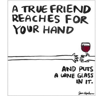 happy vino friends
