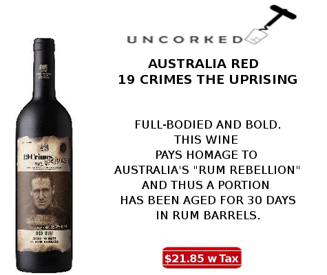 19 crimes the uprising wine