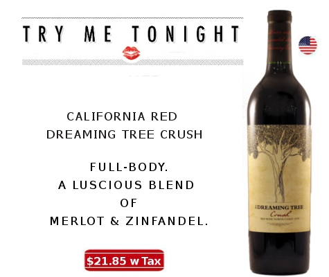 CALIFORNIA RED - DREAMING TREE CRUSH