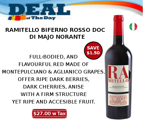 ramitello biferno rosso doc wine